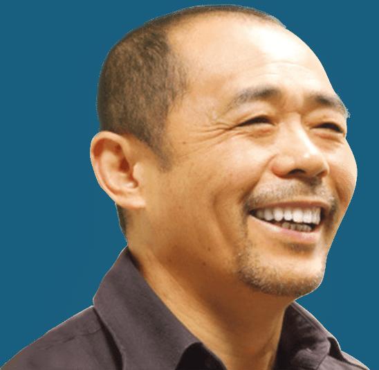 Mr. Nishimura the President of Sunny Health Japan